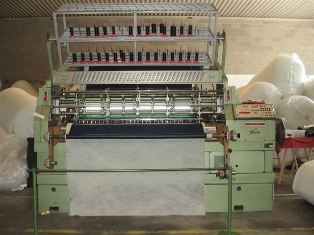 Meca Mechanic and electronic quilting machines 160/180/185cm