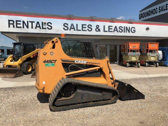 Case 445CT Skid Steer
