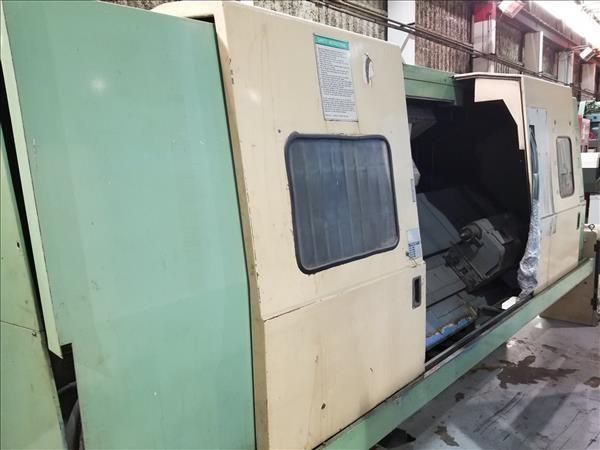 Mazak Mazatrol CAM T-3 CNC Control 3000 rpm ST40N-ATC M/C CNC LATHE 2 Axis