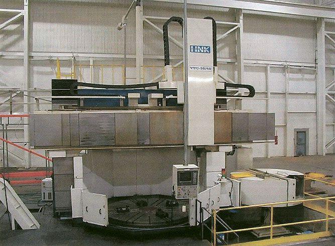 Hankook VTC 30/40 CNC VERTICAL BORING MILL W/LIVE TOOLING