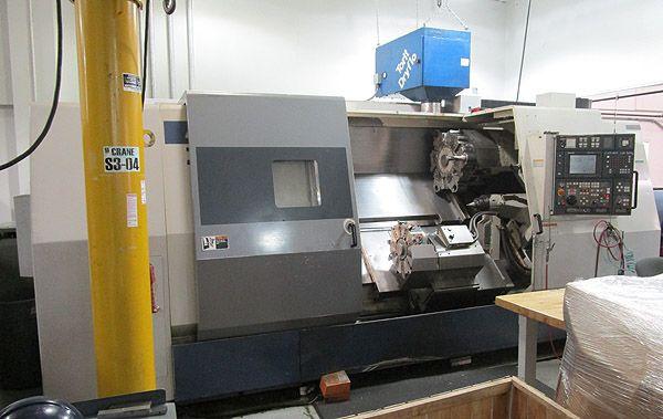 Mori Seiki Mori Seiki 518 (Fanuc 18i-TT) CNC Control 2500 RPM TWIN TURRET CNC TURNING CENTER With LIVE TOOLING ZL-35MC/1500 5 Axis