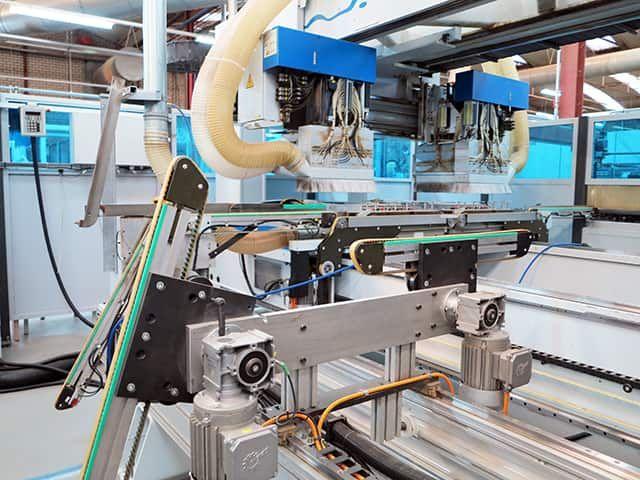 Weeke BHT 500 PROFILINE, Flexible Machine Centre 3