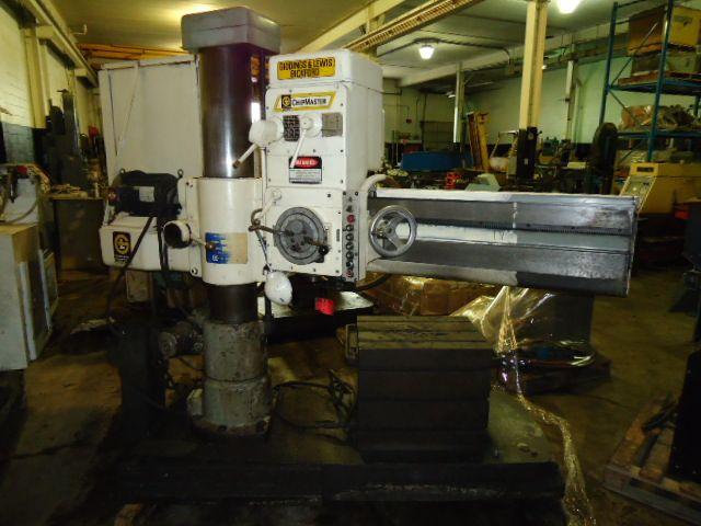 "Bickford, Giddings & Lewis Bickford 4' X 9"", Radial Arm Drill Max. 2500 Rpm"