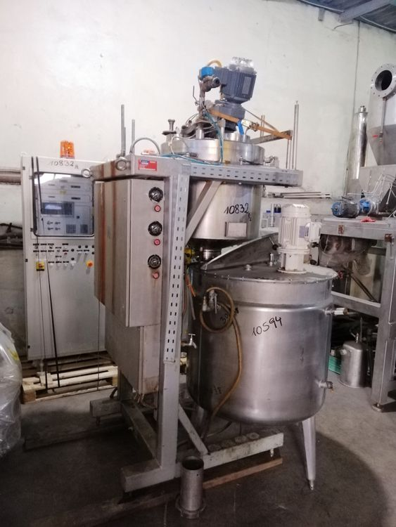 GRAVOMAT  BDS 0116 A dosing and mixing system