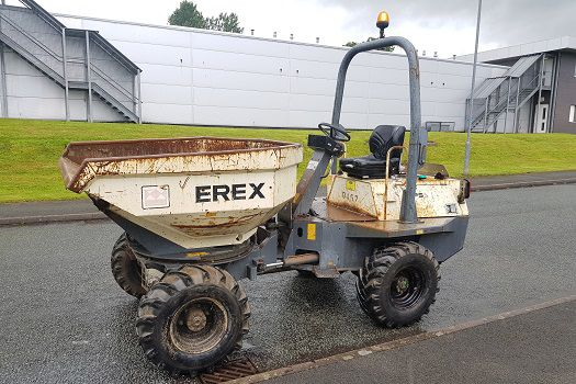 Terex PS3500H HYDROSTATIC Dumper