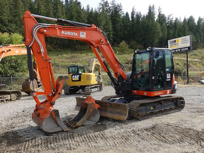 Kubota KX080-4A Excavator