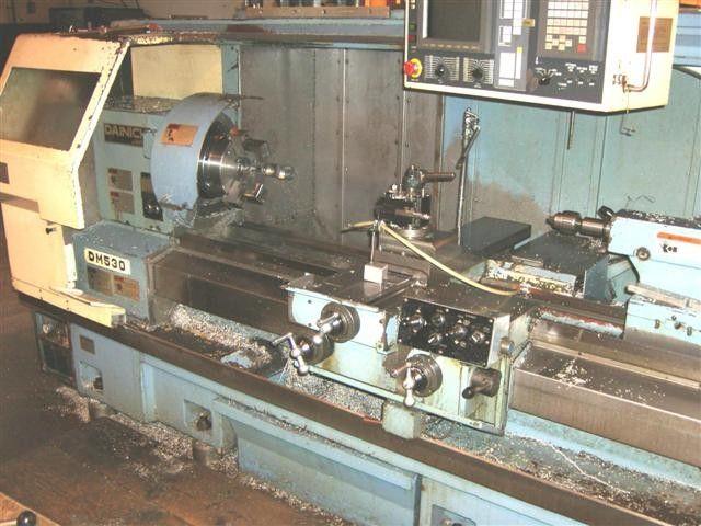 Dainichi Fanuc 20T Cnc Control Max. 3500 rpm DM 530 x 1500 2 Axis