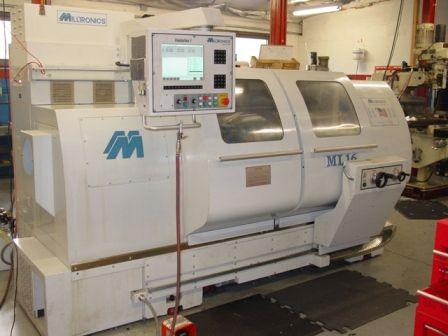 Milltronics CENTURION 7T CONVERSATIONAL COLOR GRAPHICS CONTROL Max. 4000 rpm MILLTRONICS ML-1640 2 Axis