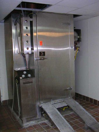 Douglas 1527-N-16, Rack Washer
