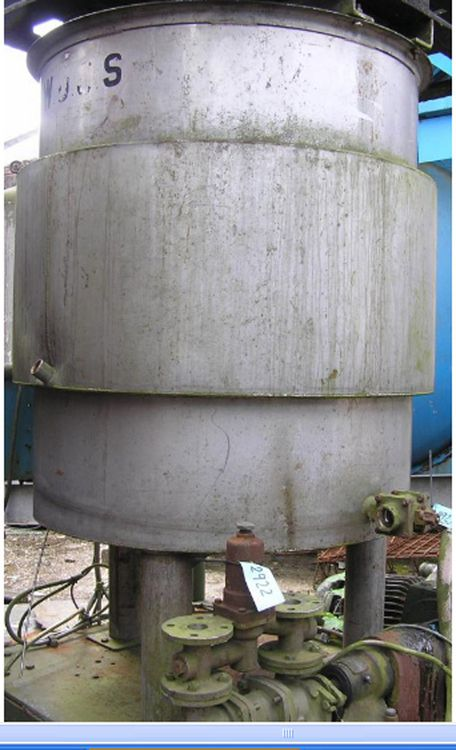 Others Jacketed Vertical Storage Tank