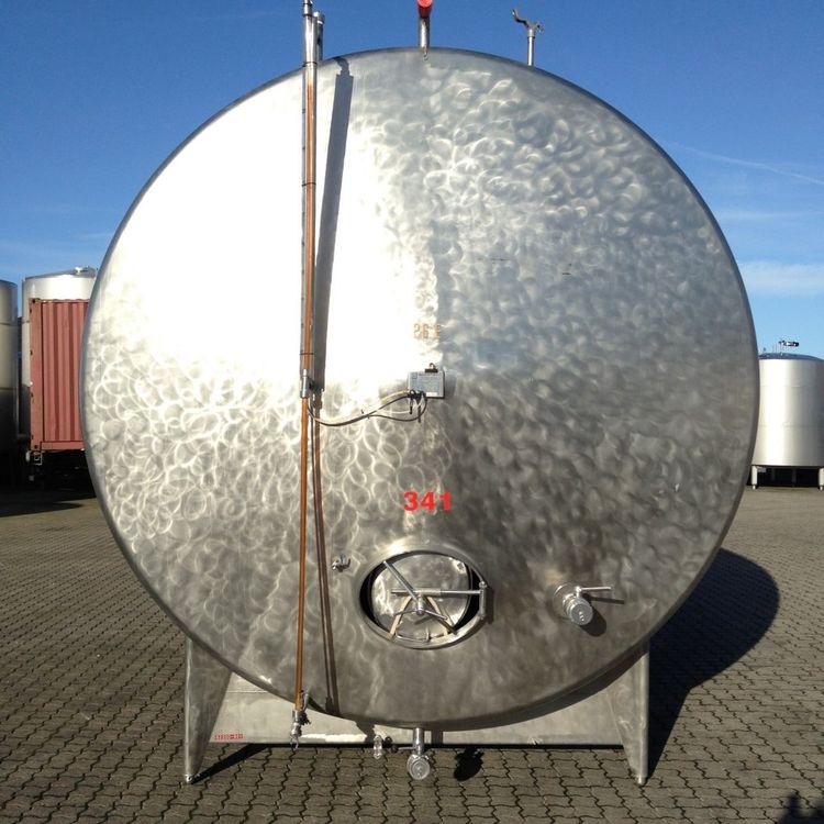 Gjetterman & Nielsen 20.000 L Stainless Steel horizontal tanks