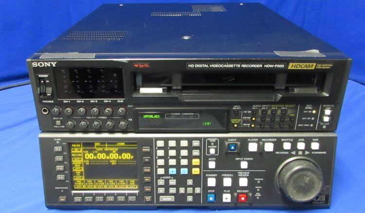 Sony HDW-F500 HDCAM Recorder