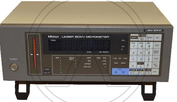 Acterna LSM3000 LASER SCAN MICROMETER