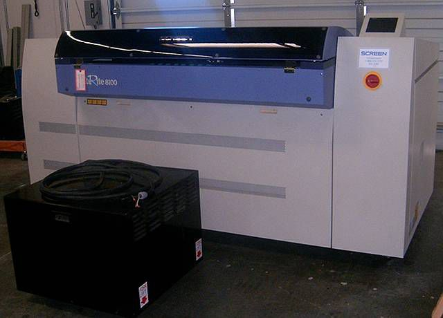 Screen CTP 8100 Image Setter