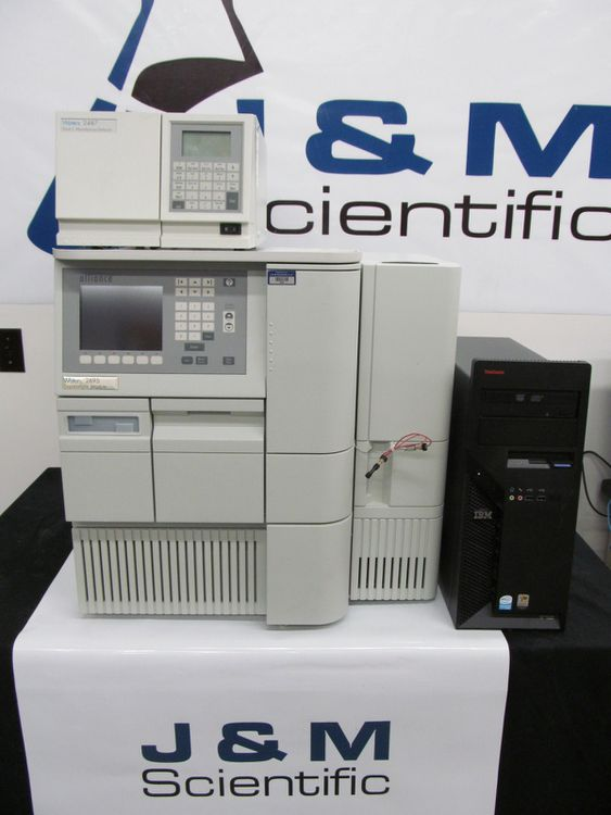 Waters Alliance 2695, HPLC With 2487 Dual Absorbance Detector