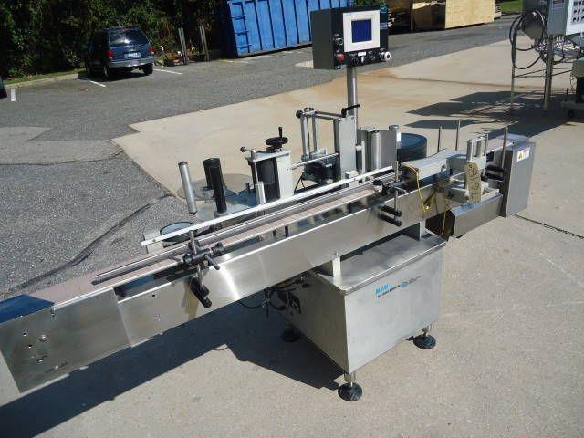 NJM UNI-300, PRESSURE SENSITIVE AUTOMATIC LABELING MACHINE