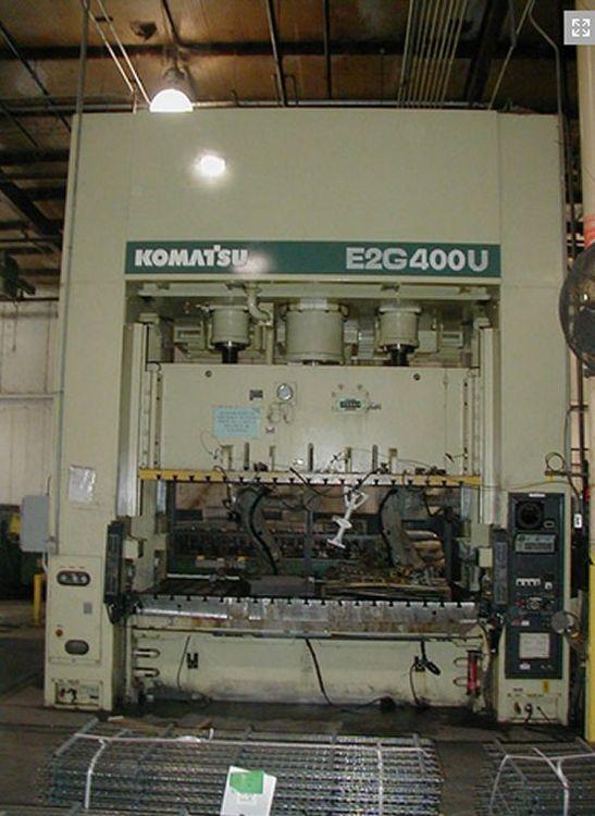 Komatsu E2G400 Max. 400 Ton