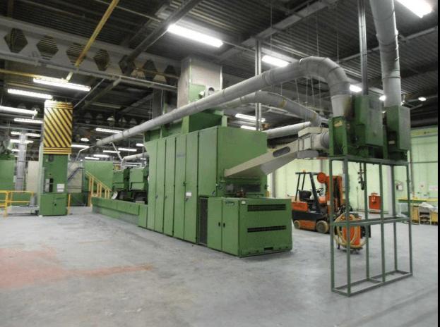 Trützschler BOAL, VFO Conveyor and Fibre Opening