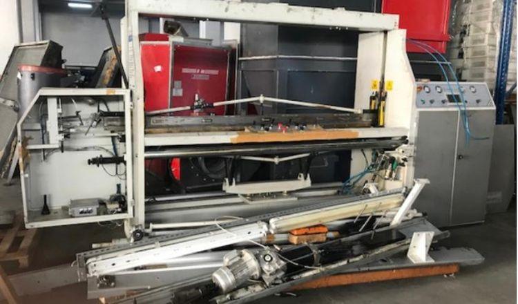 Fabotex fringing machine