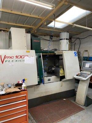 Bridgeport 1000 Flexicut Vertical Machining Centre 3 Axis