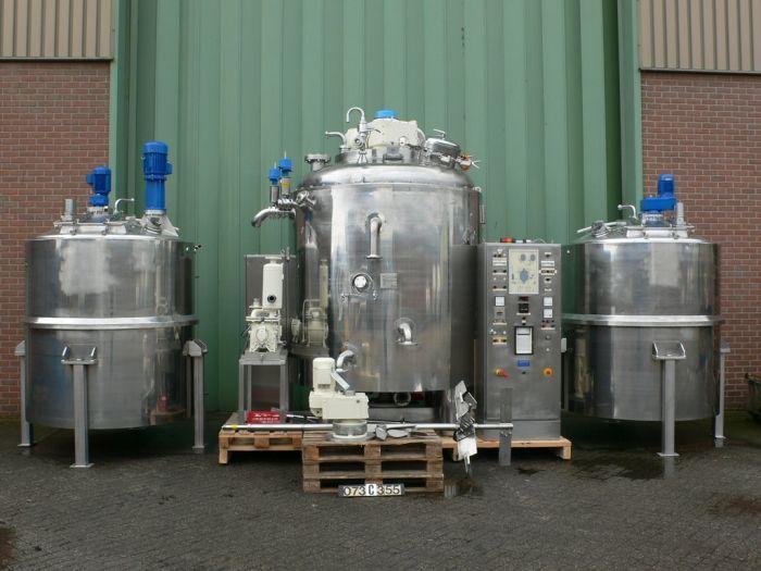 Becomix 6755 Ltr RW-5000 S Processing vessel