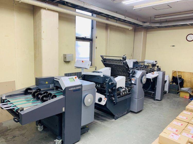 Heidelberg Stahlfolder KH 66, Folding Machine