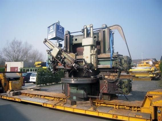 TOS SK 16 Ø 1750 x H 1300 mm Double Column CNC Vertical Boring Mill