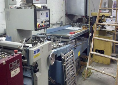 MBO B 26 - 26/4, Folder Machine