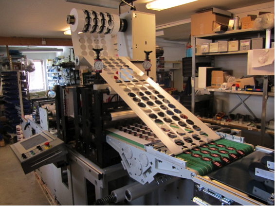 RDC 430 MA, Rotary Die Cutting Machine