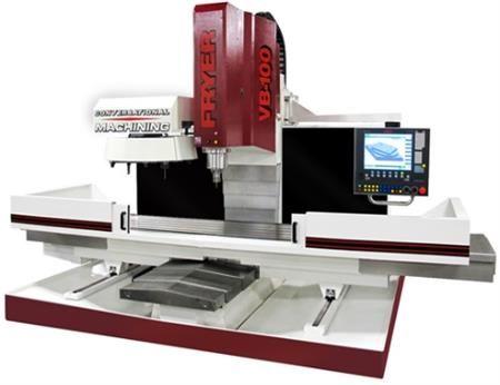 Fryer VB-100 Siemens 828-HS 3 Axis