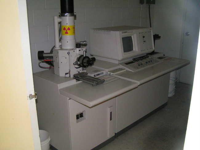 Hitachi S-2400, SEM (Scanning Electron Microscope)