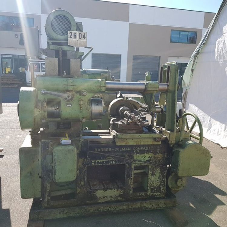 Barber Colman No 12 Hob Spline Shaft Cutting Machine