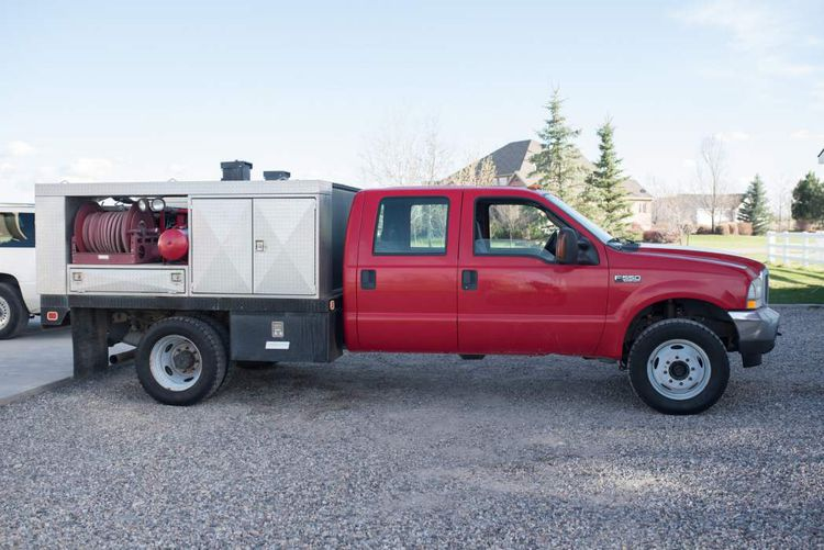 Ford F550, Brush Truck