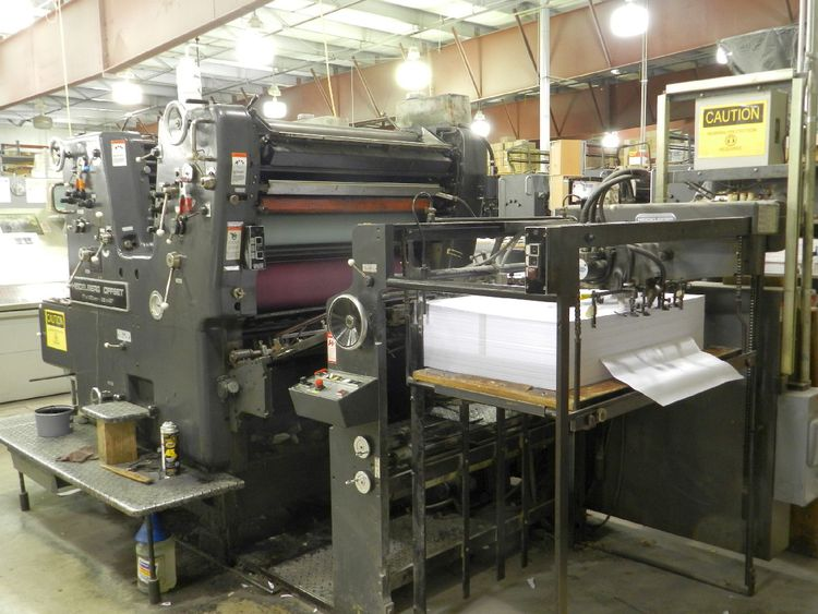 Heidelberg SORSZ 28x40 inch