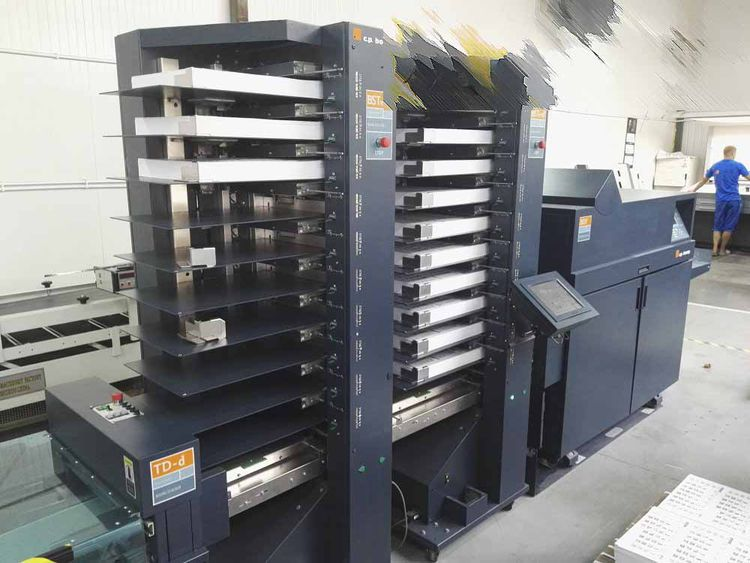CP Bourg BST 10d + BDF, Booklet maker and trimmer