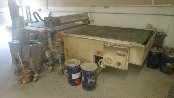 Tomanin 1300 Pouring paint machine
