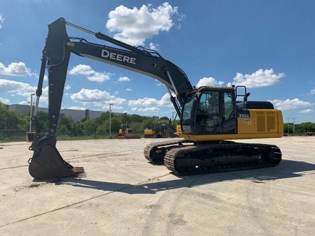 John Deere 210GLC Tracked Excavator