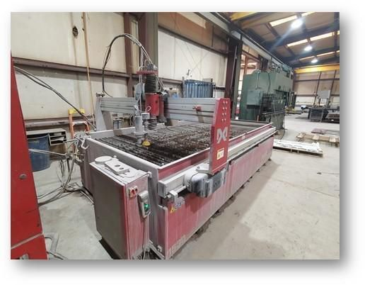 Omax Maxiem 1530 CNC Waterjet Cutting System Omax PC-Based CNCC Controller
