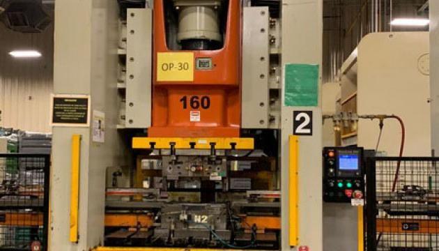 7 Pressmaster GAP Press 160 Ton