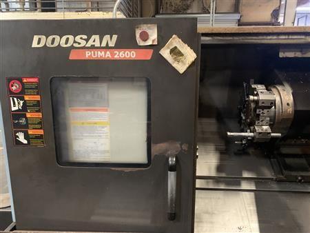 Daewoo, Doosan Fanuc 21i-TB 3500 RPM Puma 2600 2 Axis
