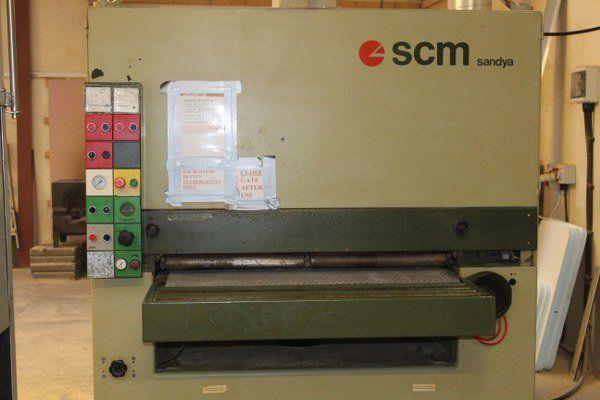 SCM Sandya CL110, Wide Belt Sander