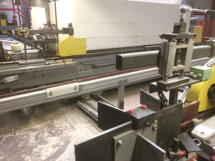Homag FL 20/06/30/S Double end tenoner with magazine