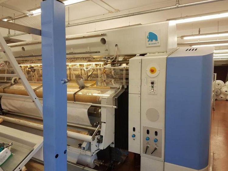 Mammut VMK 250 CNC 601 Quilting