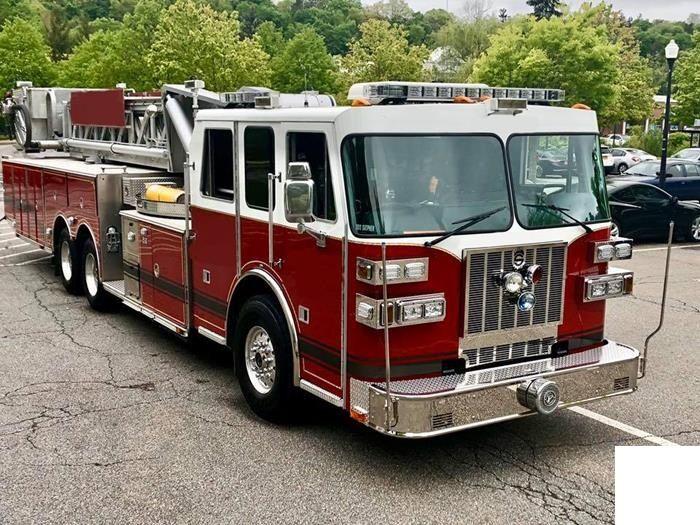 Sutphen Aerial Fire truck