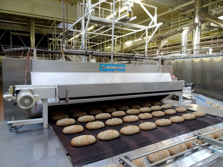 Buhler, Diosna, Vemag Bread line 2400 rye bread mixes