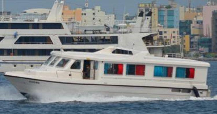 Fiberglass Passenger Speed Boat 44 passengers And 3 crew