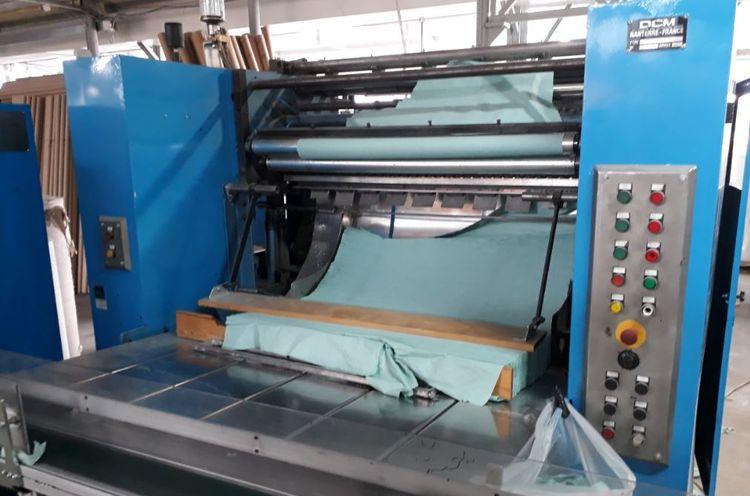 DCM ZZ FOLD MACHINE (V FOLD TYPE), 2014 overhauled