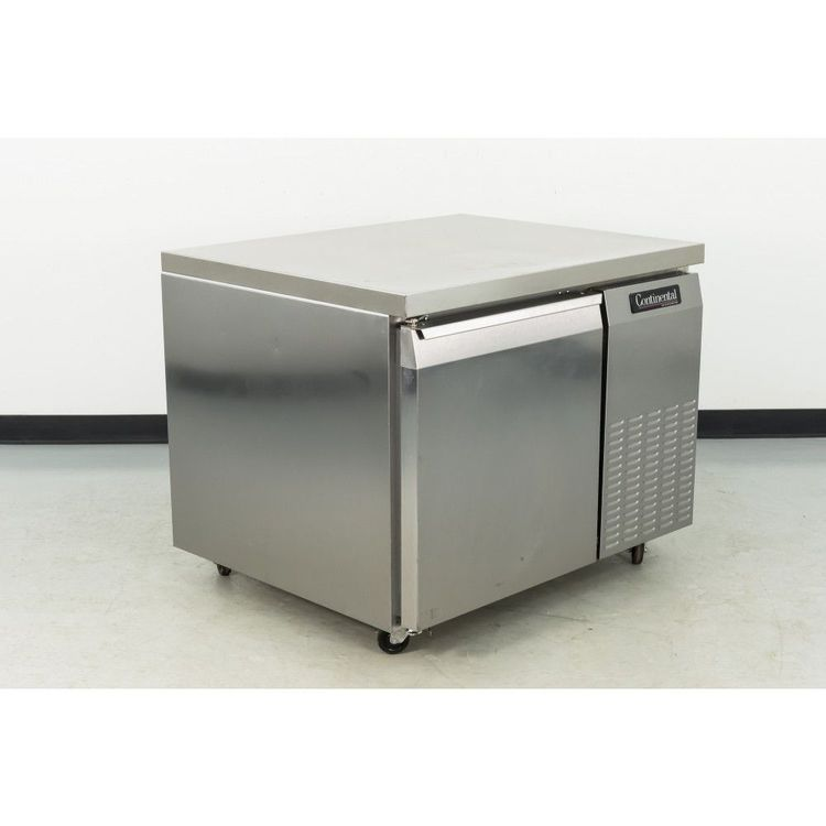 Continental CRB42 1 Door Worktop Refrigerator