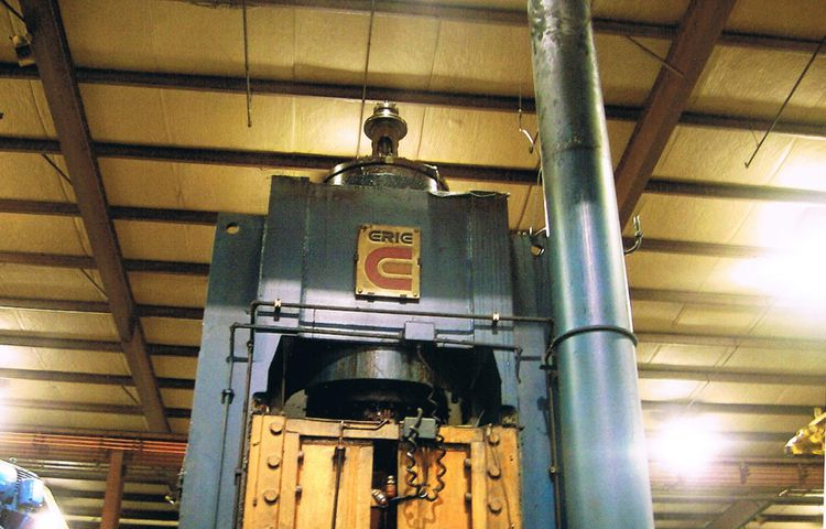 Lake Erie Hydraulic Forging Press Max. 1000 Ton