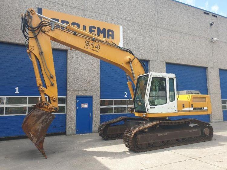Liebherr R914HDSL Tracked excavators